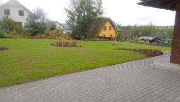 zahrada na venkově